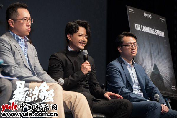暴雪将至东京首映获评最冷犯罪片700位影迷提前观影口碑热乎